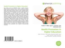 Bookcover of Health Promotion in Higher Education