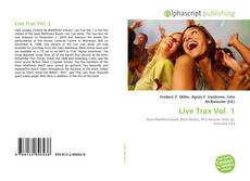Bookcover of Live Trax Vol. 1