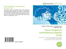 Bookcover of Icarus imagery in contemporary popular music