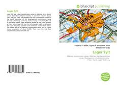 Bookcover of Lager Sylt