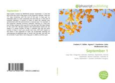 Bookcover of September 1
