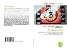 Couverture de Elsa Lanchester