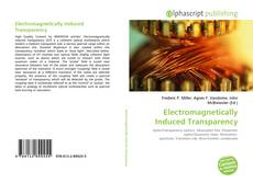 Bookcover of Electromagnetically Induced Transparency