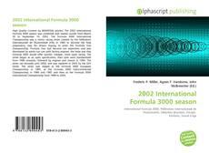 Bookcover of 2002 International Formula 3000 season