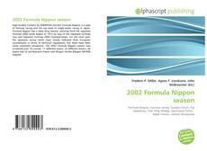 Bookcover of 2002 Formula Nippon season