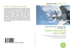 Bookcover of Action in the Gulf of Sidra (1986)