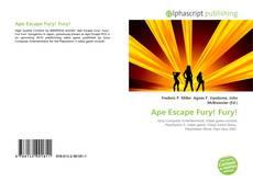 Portada del libro de Ape Escape Fury! Fury!