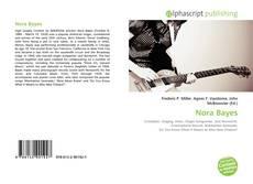Обложка Nora Bayes