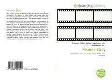 Maurice Elvey kitap kapağı
