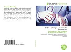 Bookcover of Eugene McCarthy