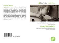 Copertina di Haughty Melodic