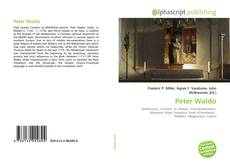 Bookcover of Peter Waldo