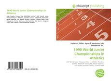 Borítókép a  1990 World Junior Championships in Athletics - hoz