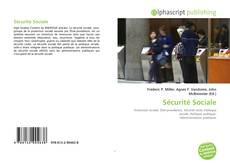 Bookcover of Sécurité Sociale