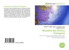 Обложка Ministère des Affaires Etrangères