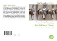Couverture de Beer in Mexico (Song)