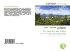 Capa do livro de German Romanticism