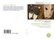 Capa do livro de Art Africain Traditionnel