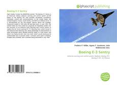 Bookcover of Boeing E-3 Sentry