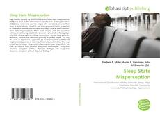 Bookcover of Sleep State Misperception