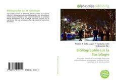 Bibliographie sur la Sociologie kitap kapağı