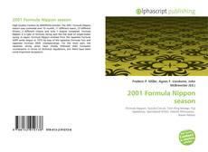 Bookcover of 2001 Formula Nippon season