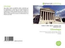 Portada del libro de Ethnologie
