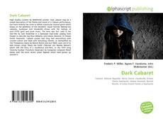 Bookcover of Dark Cabaret