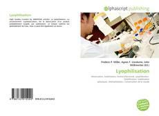 Couverture de Lyophilisation