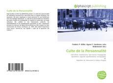 Bookcover of Culte de la Personnalité