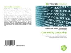 Bookcover of Commodity computing