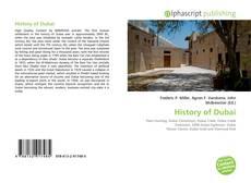 Обложка History of Dubai