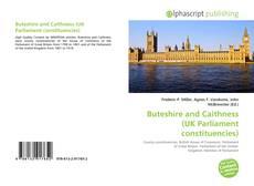 Buteshire and Caithness (UK Parliament constituencies)的封面