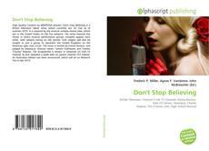 Don't Stop Believing的封面