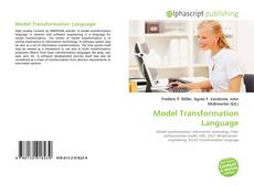 Bookcover of Model Transformation Language