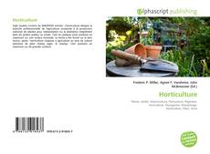 Bookcover of Horticulture