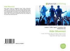 Portada del libro de Hide (Musician)