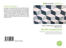 Couverture de Bicubic interpolation
