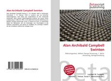 Bookcover of Alan Archibald Campbell Swinton