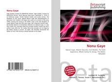 Buchcover von Nona Gaye