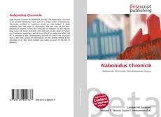 Bookcover of Nabonidus Chronicle