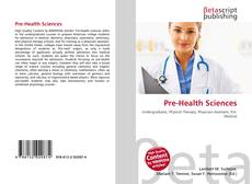 Bookcover of Pre-Health Sciences