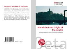 Bookcover of Pre-History and Origin of Stockholm