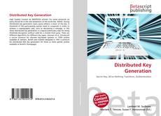 Distributed Key Generation kitap kapağı