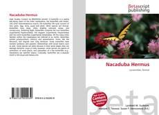 Обложка Nacaduba Hermus
