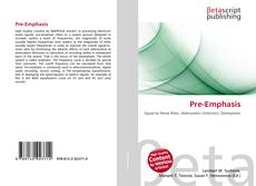 Bookcover of Pre-Emphasis