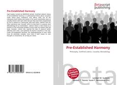 Bookcover of Pre-Established Harmony