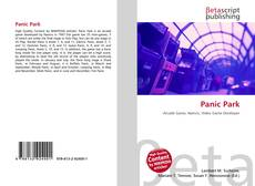 Buchcover von Panic Park
