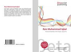 Rais Muhammad Iqbal kitap kapağı
