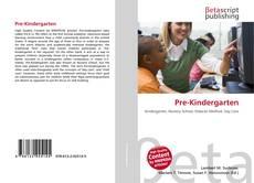 Обложка Pre-Kindergarten